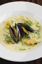 Sea Mussel Soup - delicious food from Norway   Recipes and Foods   Scoop.it