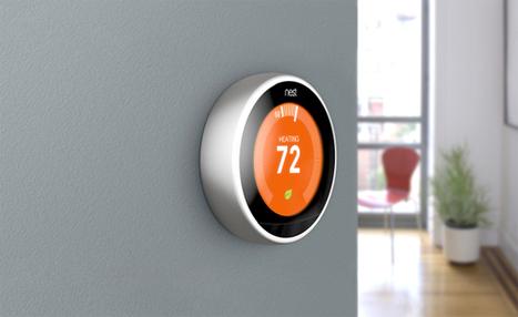 Nest dévoile un nouveau thermostat connecté et intègre la fonction «Farsight» | SandyPims | Scoop.it