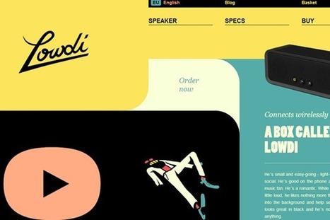 34 Flat Website Layouts for Design Inspiration | Veille tech | Scoop.it