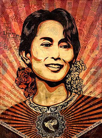 Oxymoron fractal: Lundi, Birmanie, Aung San Suu Kyi | The Blog's Revue by OlivierSC | Scoop.it