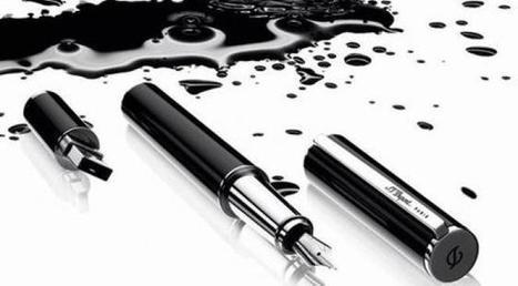 Avis aux déprimés du stylo : non, la disparition progressive de l'écriture à la main n'est ni la fin de l'écrit (ni celle de notre civilisation) | Tout fout le camp | Scoop.it