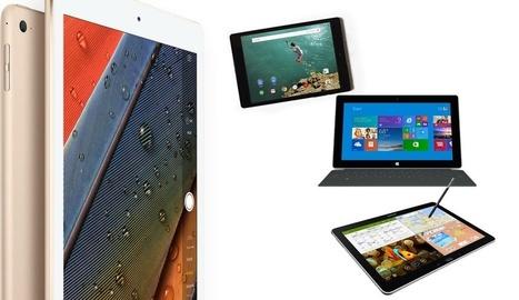 iPad Air 2 vs. HTC Nexus 9 vs. Surface 2 vs. Galaxy NotePRO - iPadizate | Tecnologías en las Aulas | Scoop.it
