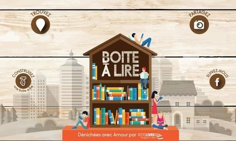 Boite à lire. Annuaire collaboratif qui recense les boites à livres - Les Outils Collaboratifs | Les outils du Web 2.0 | Scoop.it