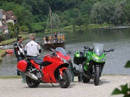 "Tourisme : On a testé les road books du Limousin à moto - Moto-Station | ""tourisme en Corrèze"" 