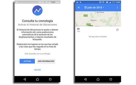 Google Maps ahora muestra el feed de últimos sitios visitados | Uso inteligente de las herramientas TIC | Scoop.it