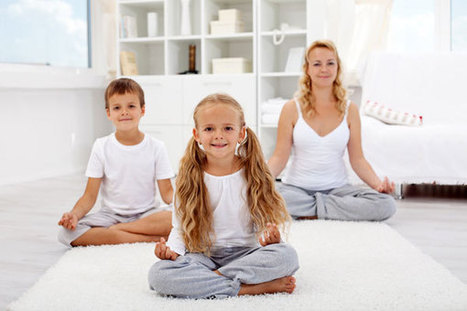 How to meditate with children - Stress Relief Wizard | Focusing | Scoop.it