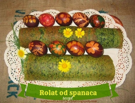 Recept: Spanać rolat | Ladies Community | Scoop.it