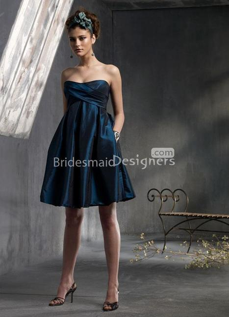 Silk Taffeta Bridesmaid Dresses | Shop Taffeta Wedding Gown - BridesmaidDesigners | Designer Bridesmaid Dresses 2015 | Scoop.it