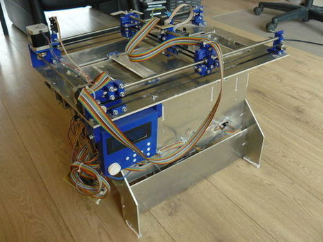Plan B, an open source 3DP (powder and inkjet) 3D printer | e-merging Knowledge | Scoop.it