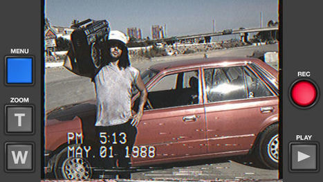 Turn Your iPhone Into a Crappy 1985 Camcorder With This App | iPhones and iThings | Scoop.it