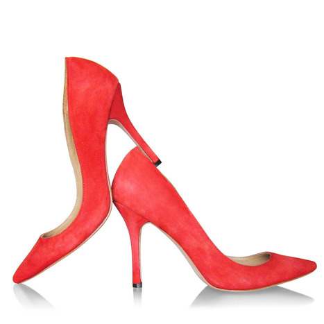 Zulia - Pointed Toe Pump / Red Suede [Zulia-Suede-Red] - $230.00 : CHIKO Shoes Online Store, Shop the trendiest fashion shoes | Customize your own shoes in any color at CHIKO Shoes | Scoop.it