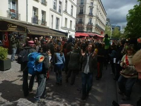Carrément difficile d'accéder à la place... | #marchedesbanlieues -> #occupynnocents | Scoop.it