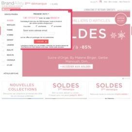 bon de réduction pour Brandalley. 20€ de réduction fiabilité | codes promo | Scoop.it