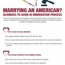 Marrying An American? Blunders To Avoid In Immigration Process | Visual.ly | Wildes & Weinberg P.C Law Offices | Scoop.it