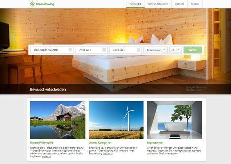 Neues Buchungsportal für grüne Hotels: Green Booking   Green Hotel Trends (by Green Booking)   Scoop.it