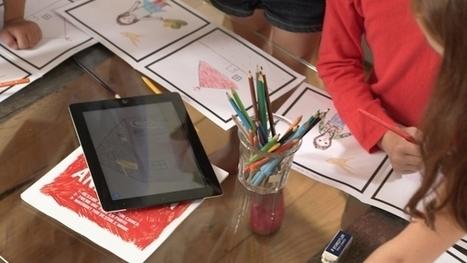 La Gaité lyrique accueille le Cahier de Dessin Animé le mercredi 28/01 !   Application portable et tablette   Scoop.it