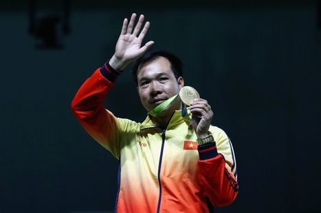 Vietnam wins its first ever Olympic gold medal with 10m air pistol victory   Business News & Finance   Scoop.it