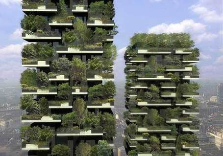 Milan's Vertical Forest | Local Food Systems | Scoop.it