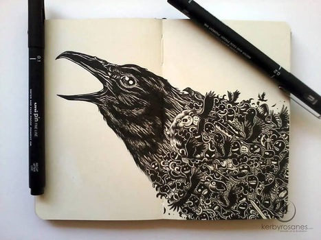 The Filipino Doodler #art #illustration #drawing #animals #pen #doodles | Luby Art | Scoop.it