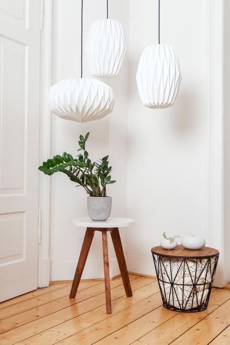 Handmade Lighting by Nachtfalter · Happy Interior Blog | Interior Design & Decoration | Scoop.it