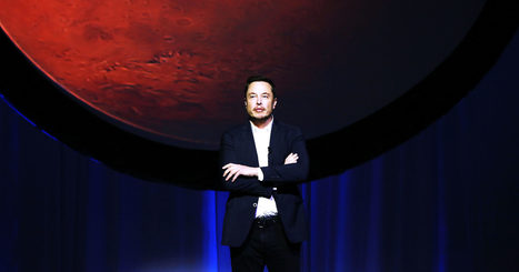 Elon Musk Announces His Plan to Colonize Mars and Save Us All | Futurewaves | Scoop.it