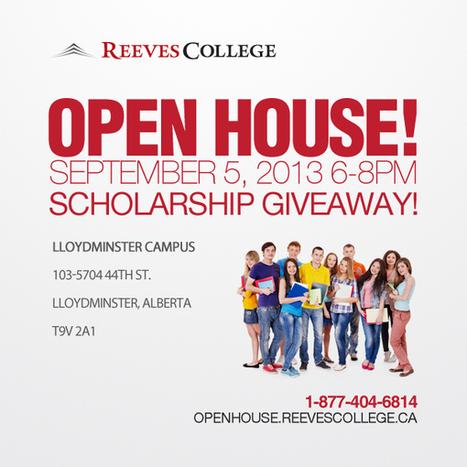 Reeves College Open House in Lloydminster, AB | Reeves College in Alberta Canada | Scoop.it