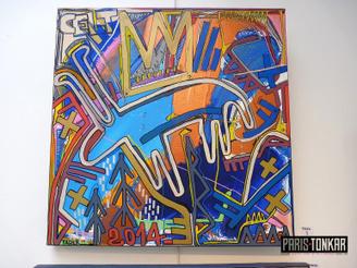 Peintures et dessins disponibles à la galerie Amarrage jusqu'au 25 mai ! | The art of Tarek | Scoop.it