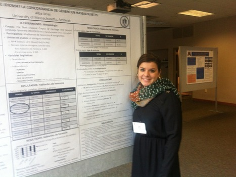 Alba Arias presents her work at the Workshop on Spanish Sociolinguistics in Madison, Wisconsin | The UMass Amherst Spanish & Portuguese Program Newsletter | Scoop.it