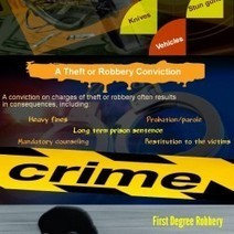 Robbery - A Big Dent on Society | Visual.ly | Legal Issues - Challenging Societies | Scoop.it