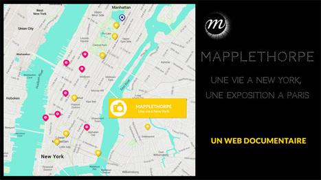 Mapplethorpe, une vie à New York – le web documentaire | Nouveaux formats | Scoop.it