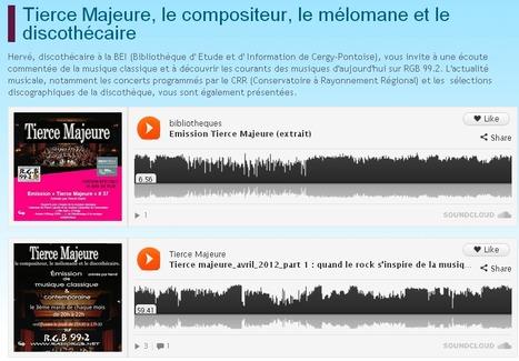 Tierce Majeure, le compositeur, le mélomane et le discothécaire | Réseau des Bibliothèques de Cergy-Pontoise | Bib, musique et video | Scoop.it