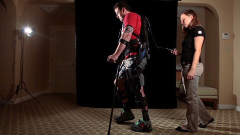 Exoskeleton allows paraplegics to walk | Robots and Robotics | Scoop.it