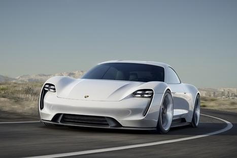 Plus beau concept-car de 2015 : Porsche Mission E et Mazda RX-Vision ex-aequo | Voitures anciennes - Classic cars - Concept cars | Scoop.it