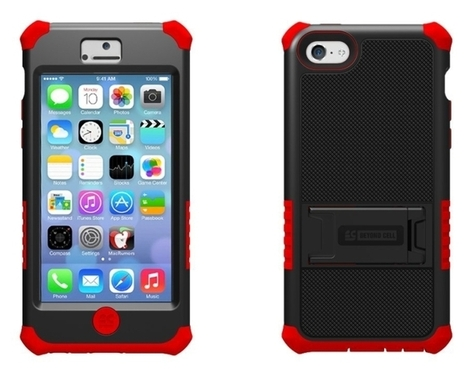 Hard Shell and Silicone Case for iPhone 5C Lite   iPhone Cases   Scoop.it