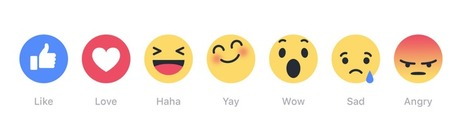 Social Media - Retailers should be ready for consumers' Facebook 'Reactions' #emoji #marketing | MarketingHits | Scoop.it