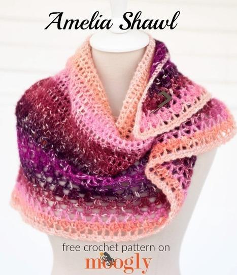 Amelia Shawl - moogly | Crochet | Scoop.it
