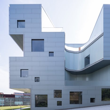 Visual Arts Building by Steven Holl opens at the University of Iowa | DESIGN NOW | Scoop.it