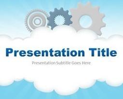 Cloud Computing PowerPoint Template   cloud   Scoop.it