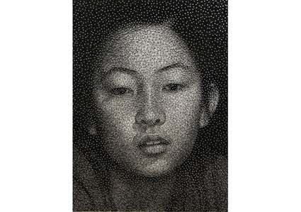 Artist Creates Photorealistic Portraits With Nails And Thread - DesignTAXI.com | Design buzz buzz | Scoop.it