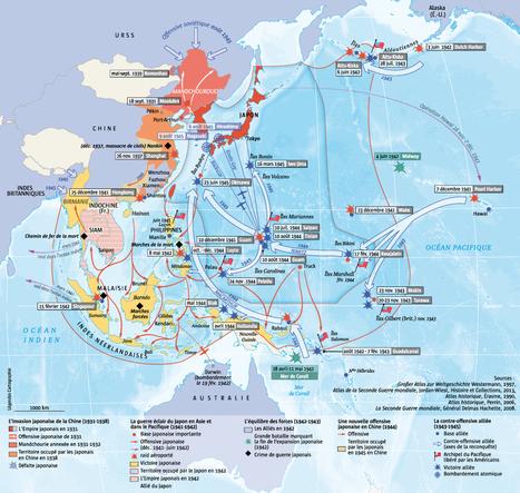 Asie-Pacifique, la guerre de quinze ans | L'Histoire | Enseñar Geografía e Historia en Secundaria | Scoop.it