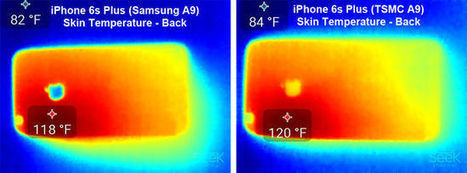 iPhone 6S A9 SoC test: Samsung A9 96mm² Vs TSMC A9 104.5mm²   All about smartphone   Scoop.it