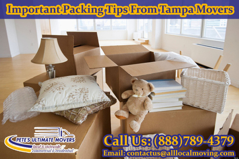 Important Packing Tips From Tampa Movers | Petes Ultimate Movers | Scoop.it
