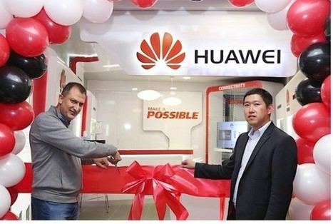 Huawei launches first African store in Johannesburg | HumanIPO | Johannesburg | Scoop.it