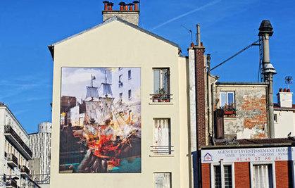 A Montreuil, les artistes ont « Pignon sur rue » | actualités en seine-saint-denis | Scoop.it