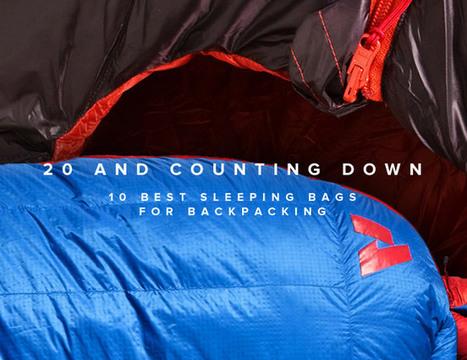 10 Best Sleeping Bags for Backpacking - Gear Patrol | Run Bike Swim Hike | Scoop.it