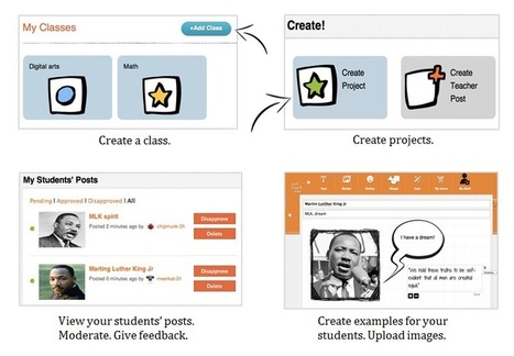 Nanoogo For Educators | New Web 2.0 tools for education | Scoop.it