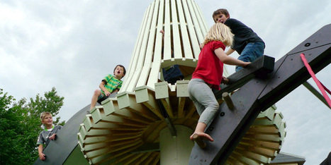 World's Coolest Playgrounds Give Kids a Taste of the Surreal | Playgrounds - Where Kids Can Grow and Flourish | Scoop.it