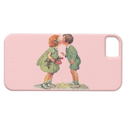 Vintage children kissing | Unique and Customizable Gifts | Scoop.it