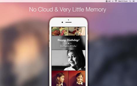 Mac Apps Store propose l'application Flowr, assurant le transfert des photos Mac->iPhone | Chroniques libelluliennes | Scoop.it