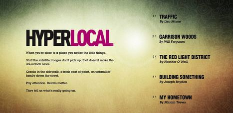 Hyperlocal: Integrating Past and Present in Interactive Design | Stories - an experience for your audience - | Scoop.it